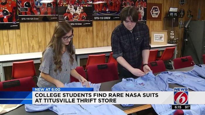 중고 가게에서 발견한 나사 유니폼…깜짝 놀랄 가치