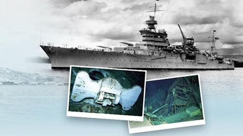 메인이미지:히로시마 원폭 美군함, 침몰 72년 만에 찾았다