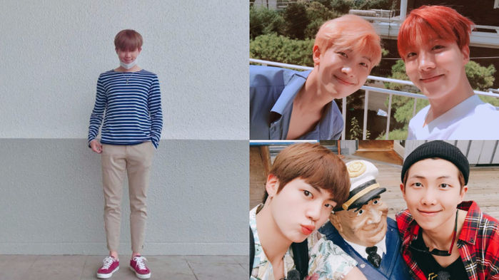 기사 대표 이미지:[SBS Star] BTS Members to Celebrate Rap Monsters 23rd Birthday