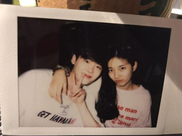 Suzy Uploads a Photo with Lee Jong-suk, Raising Fans' Anticipation!