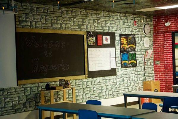 '해리 포터' 테마로 한 교실