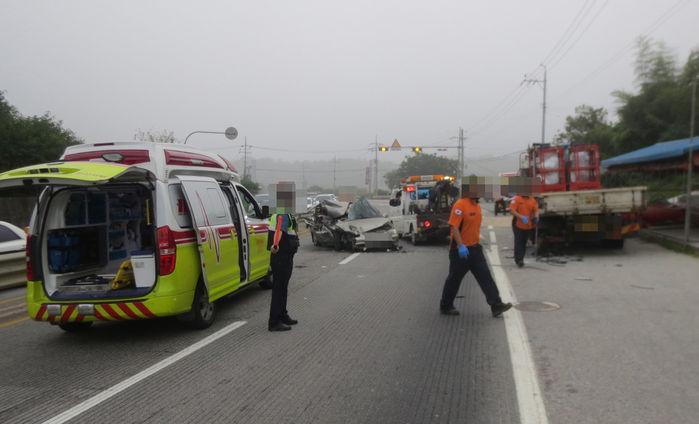 김제 일가족 교통사고 세 살배기 사망(출처=연합뉴스)