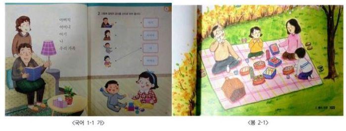 '생계부양자'는 남성, '돌보는 사람'은 여성···'초등 교과서 성별 고정관념 심하다