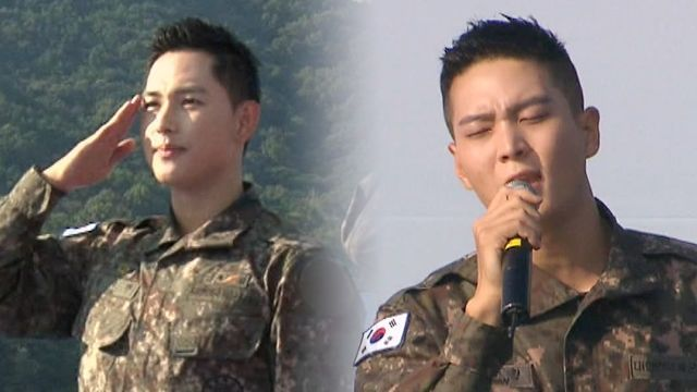 기사 대표 이미지:[SBS Star] VIDEO: Im Siwan and Joowon Maintains Good Looks Even at the Army