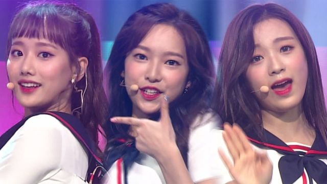기사 대표 이미지:[SBS Star] VIDEO: April Performs Take My Hand at SBS Inkigayo