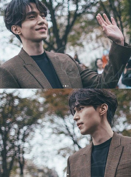 [SBS Star] Live Pictorial Actor Lee Dong Wook Spotted in Paris