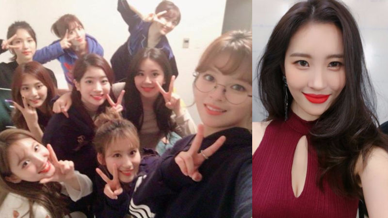 기사 대표 이미지:[SBS Star] TWICE Shares about Their Sweet Encounter with SUNMI