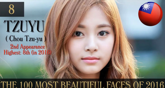 [SBS Star] VIDEO: Tzuyu Chosen as No.8 on the Most Beautiful Faces Around the World