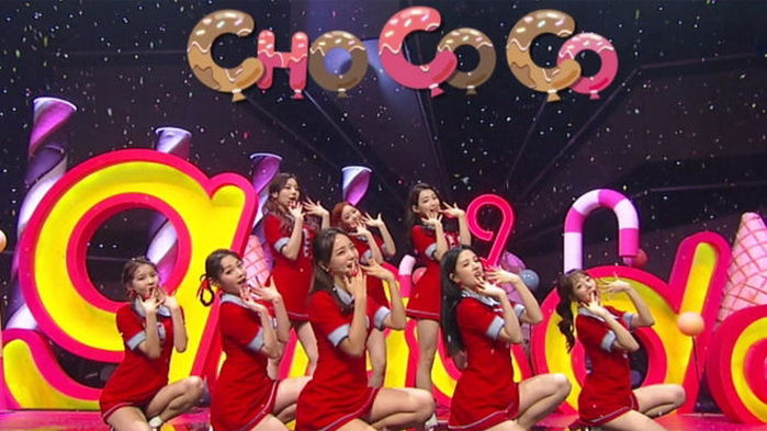 기사 대표 이미지:[SBS Star] VIDEO: gugudan Shows Its Bubbly Charm with Chococo Stage