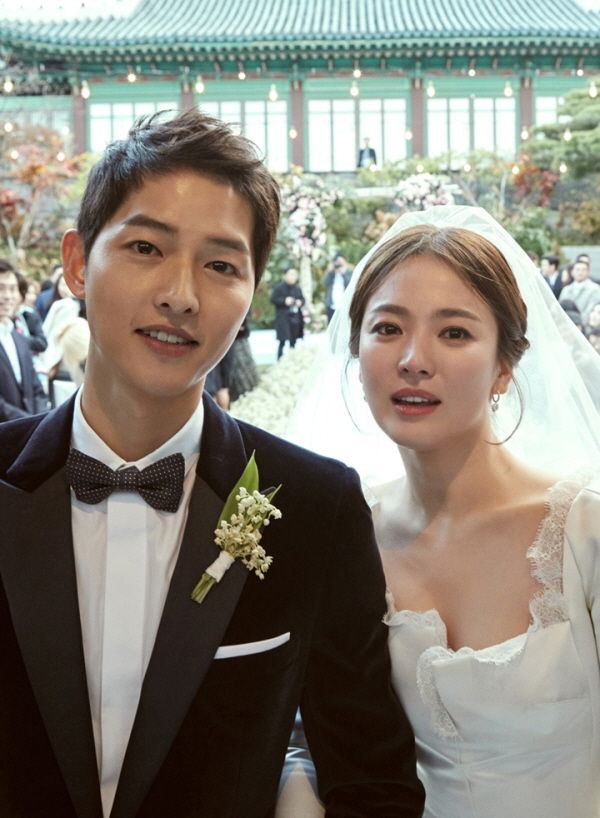 [SBS Star] Song Joong-ki's Pledge of Love, 'To my precious bride