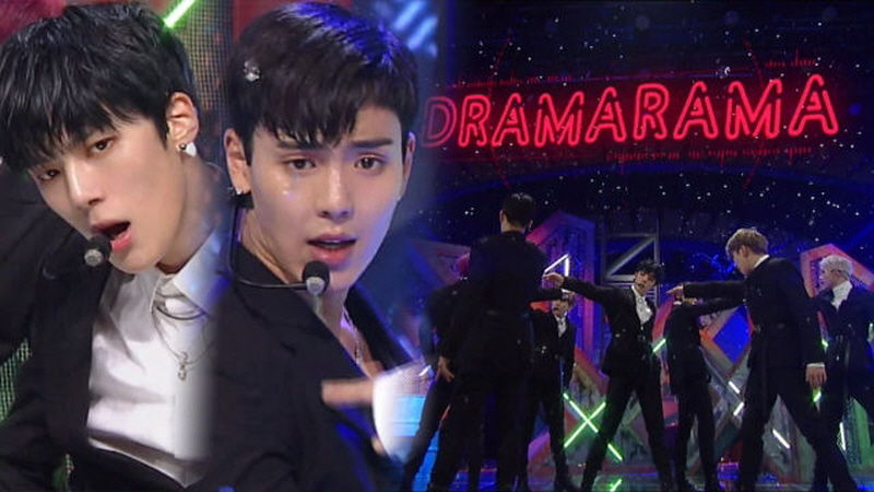 기사 대표 이미지:[SBS Star] VIDEO: MONSTA Xs Powerful DRAMARAMA Comeback Stage