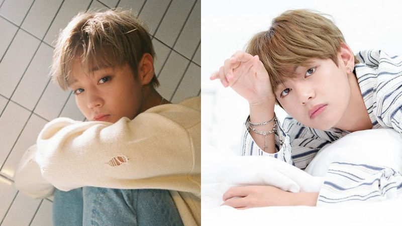 기사 대표 이미지:[SBS Star] From Fanboy to Game Mate; Wanna Ones Park Ji Hoon & BTS V!