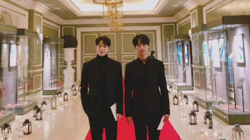 기사 대표 이미지:[SBS Star] VIXX N and HONGBIN Get Invited to IOC Presidents Dinner