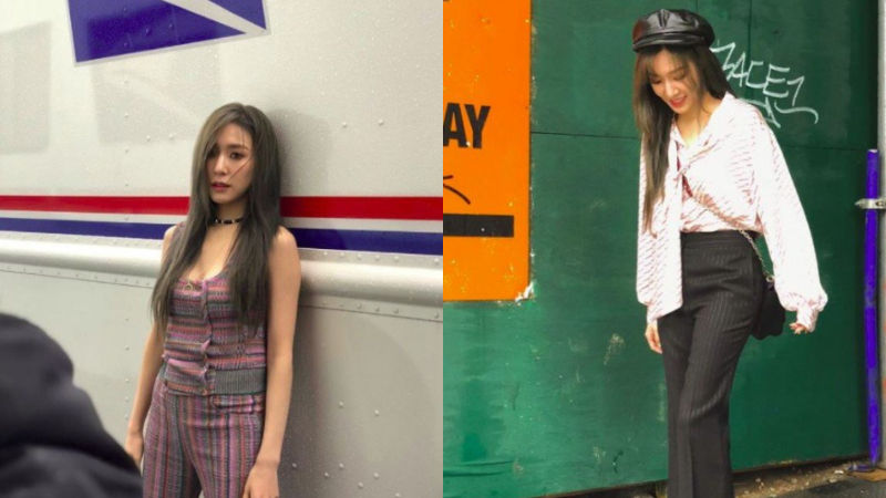 기사 대표 이미지:[SBS Star] Tiffany Taking Pictorials in New York!