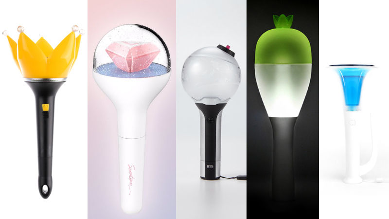 기사 대표 이미지:[SBS Star] Over 2 Million K-pop Fans Pick the Prettiest Official Light Sticks