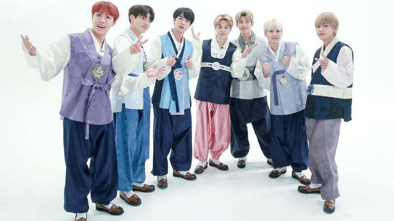 기사 대표 이미지:[SBS Star] BTS Celebrates the New Year with Hanbok!