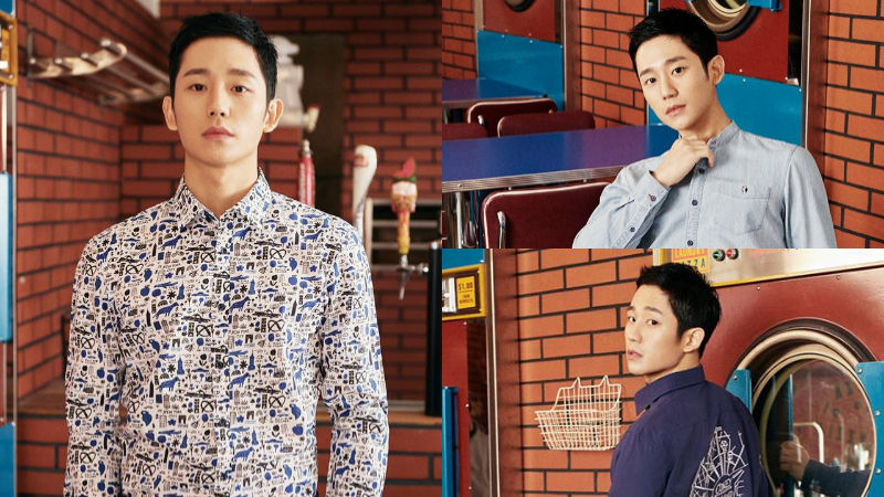 기사 대표 이미지:[SBS Star] Jung Hae In Shows His Outstanding Professionalism During a Photo Shoot