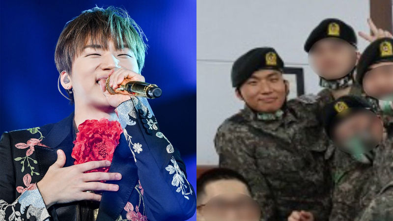 기사 대표 이미지:[SBS Star] BIGBANGs DAESUNG Spotted in the Army
