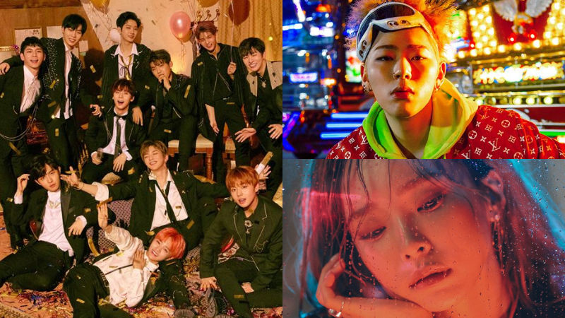 기사 대표 이미지:[SBS Star] Wanna One to Release Songs with ZICO, Heize and More