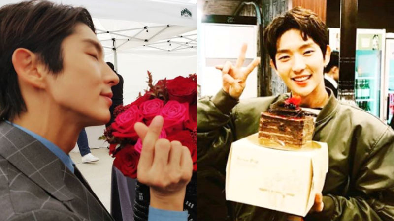 기사 대표 이미지:[SBS Star] Lee Joon Gi Receives Lots of Love on His Birthday!