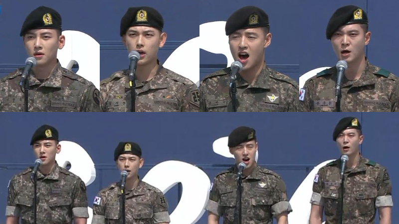 [SBS Star] Celebrities' Singing of National Anthem Praised the Dedicated Veterans of Korea on Memori