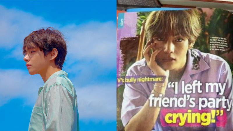 기사 대표 이미지:[SBS Star] The Heartbreaking Story of BTS V Is Introduced in American Magazine?