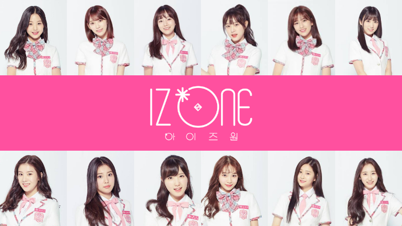 SBS Star] 'Produce 48' Girl Group IZONE to Kick off Its First
