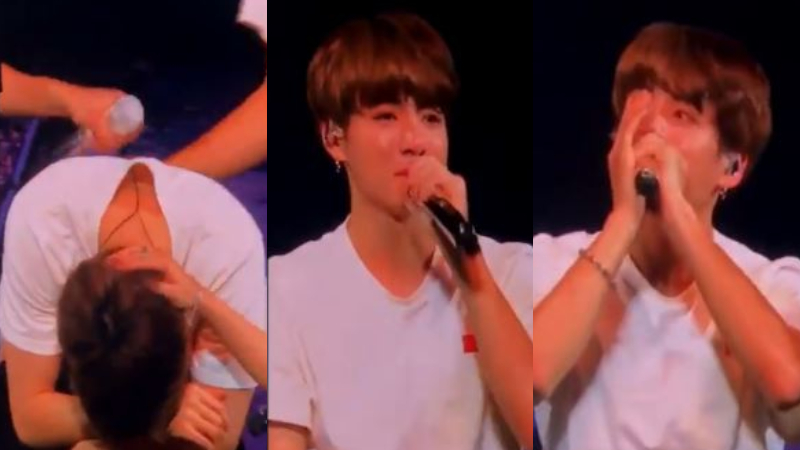 SBS Star] BTS JUNGKOOK Shatters His Fans' Heart During