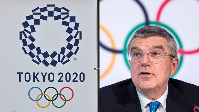 취파 사진 1-2, 도쿄올림픽 로고/IOC 위원장