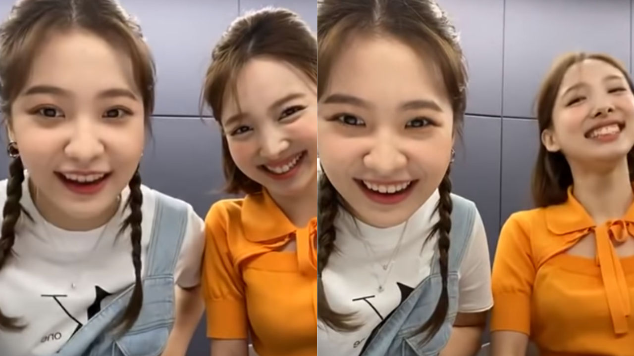 기사 대표 이미지:[SBS Star] TWICE NAYEON Makes a Surprise Appearance on Red Velvet YERIs Live Broadcast