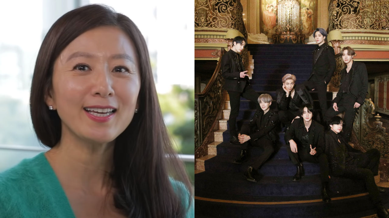 기사 대표 이미지:[SBS Star] VIDEO: Kim Hee Ae Reveals Why She Is a Huge Fan of BTS