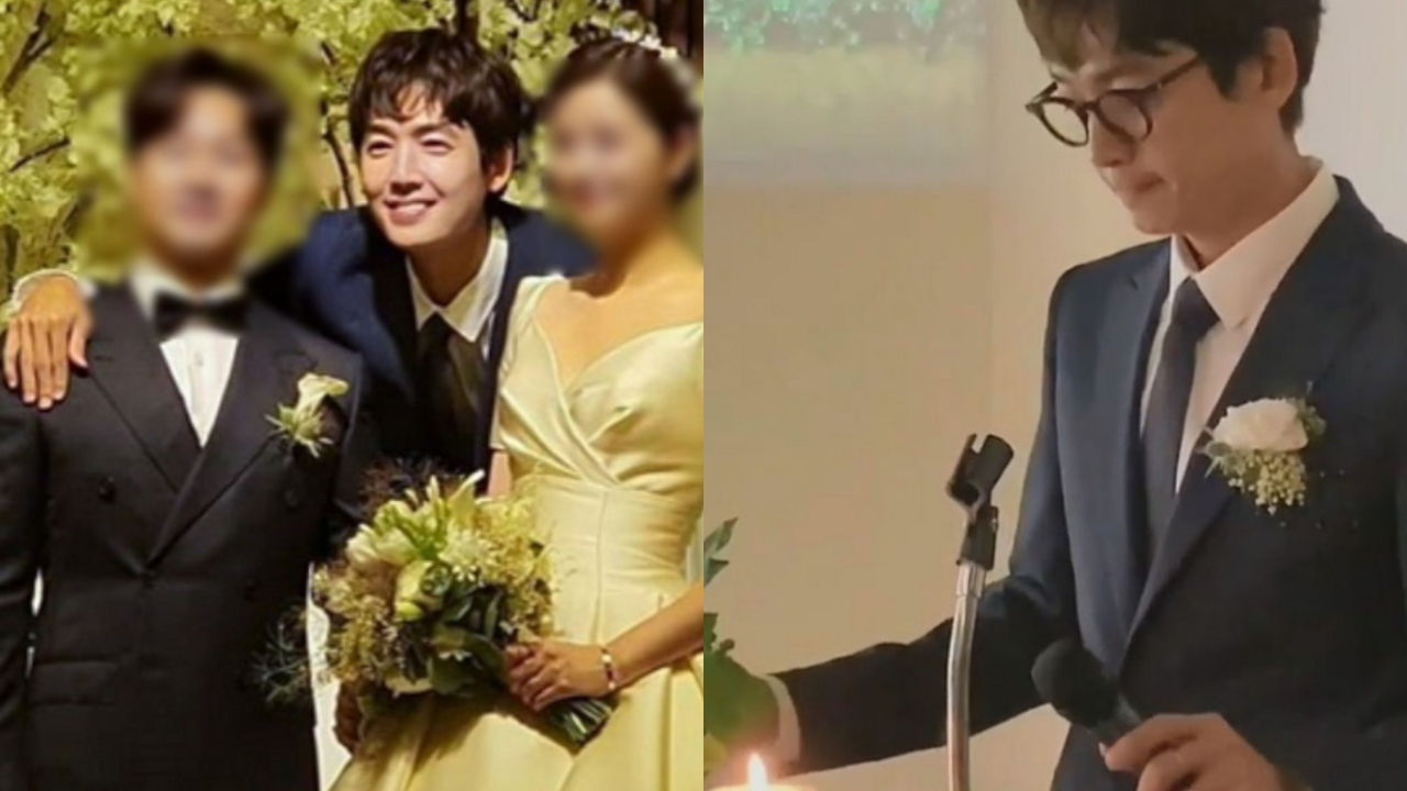 기사 대표 이미지:[SBS Star] Chung Kyung-ho Spotted Hosting a Wedding Ceremony