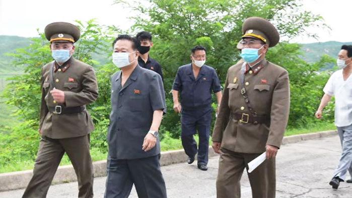 북한, 비상 방역 작업
