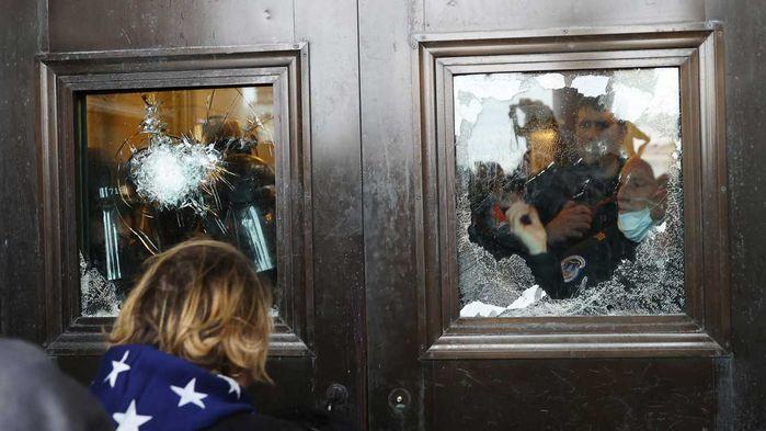 트럼프 지지자들, 미국 의회 난입 (사진=게티이미지코리아)