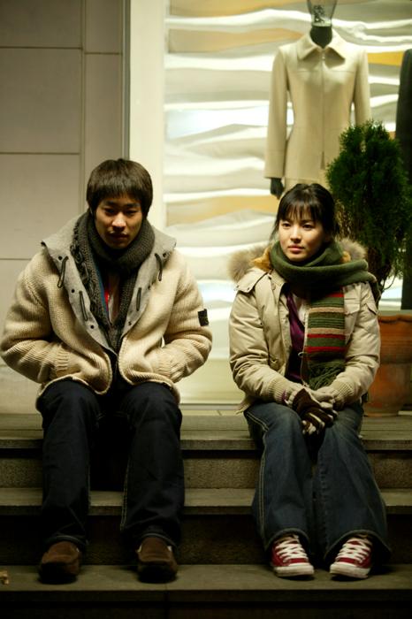 민호(류승범), 연우(송혜교)