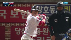 [KBO] '박정권 끝내기' SK, 삼성 상대로 홈에서 7-6 승리