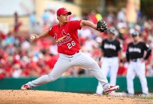 [MLB] 오승환, 1이닝 퍼펙트 피칭…세인트루이스 8-1 승리