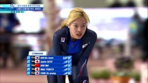 빙속 김보름-노선영, 평창 1500m 출전권 확보