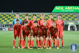 한국 여자축구, FIFA 랭킹 16위 기록