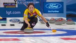[영상]여자컬링 세계선수권-한국, 최강 캐나다에 석패…2승4패