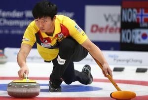 컬링 믹스더블, 세계선수권서 중국 9-3으로 완파 '4연승'