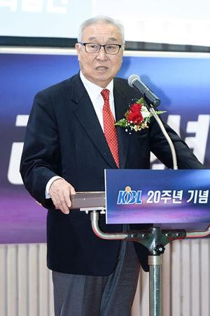 [KBL] 김영기 총재, 9대 총재로 재추대