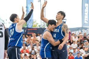 3대3 농구 대표팀, FIBA 월드컵서 첫 승
