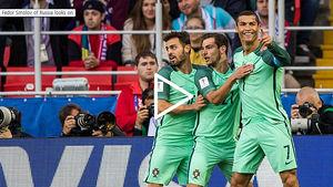[컨페드컵] '호날두 결승골' 포르투갈, 개최국 러시아에 1-0 승리