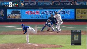 [KBO] kt, '정현 끝내기' 극적인 8연패 탈출
