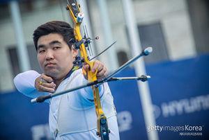 男 양궁 임동현·김우진·오진혁, 세계선수권 32강 직행