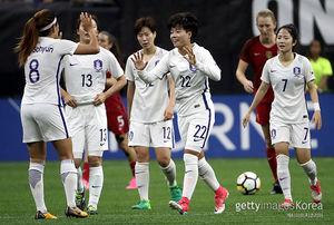 여자축구 국가대표, 미국과의 평가전서 1-3 패… 한채린 데뷔골