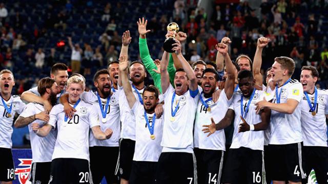 [컨페더레이션스컵] 독일 사상 첫 우승
