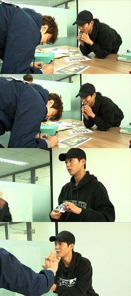 '런닝맨' 박보검, 이광수와 짧은 만남에도 '보검 매직' 발휘
