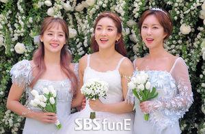[E화보]바다 결혼식, 다시 한자리에 모인 S.E.S.